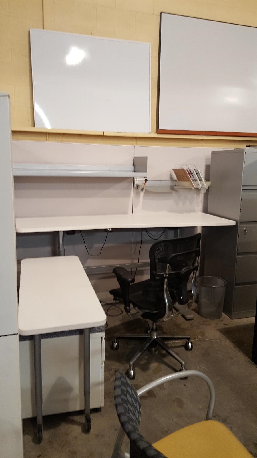 Steelcase Enhanced Workstations With Electric Sit Stand