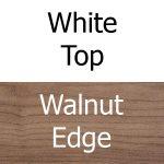 White Top, Walnut Edge
